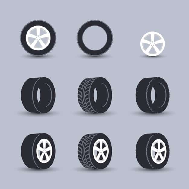 Basic structure of the tire